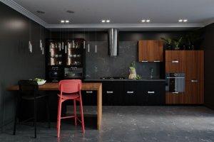 Кухня современная Corund - Мебельная фабрика «Энгельсская (Эмфа)»
