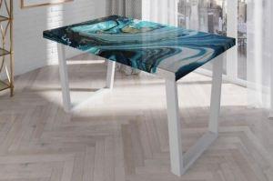 Стол кухонный 3D Бирюза - Мебельная фабрика «Akrolux»