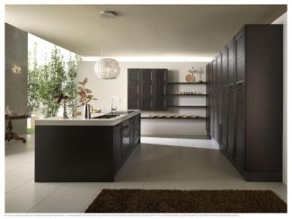 Кухня с островком LITRA - Мебельная фабрика «EUROPRESTIGE»