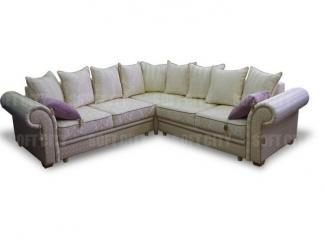Угловой диван Версаль люкс  полный угол - Мебельная фабрика «Soft city»