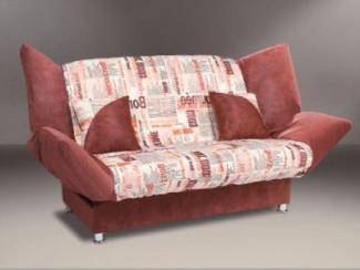 прямой диван Люкс клик-кляк - Мебельная фабрика «Карина»