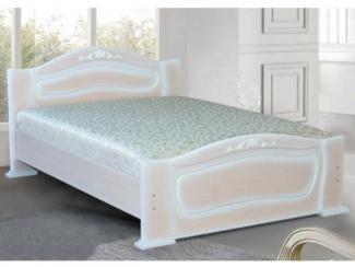 Кровать МДФ МК 17 - Мебельная фабрика «Уютный Дом»