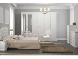 Изящная спальня Каролина из массива - Мебельная фабрика «Lasort»