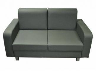 Двухместный прямой диван Офисный 1 - Мебельная фабрика «Роден»