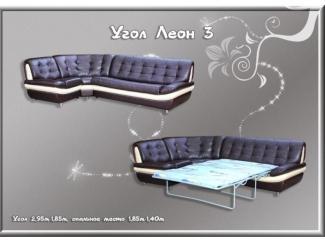 Угловой диван Леон 3