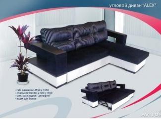 Современный угловой диван ALEX