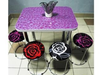 Стол «Галактика Малиновая»  - Мебельная фабрика «Династия»