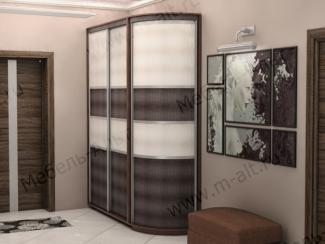 Шкаф с радиусным распашным элементом - Мебельная фабрика «Мебель-Альт»