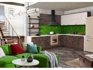 Кухня Шервуд дуб аррива - Мебельная фабрика «Трио», г. Ульяновск