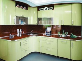 Кухонный гарнитур угловой Горокко - Мебельная фабрика «Градиент-мебель»