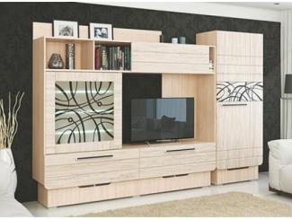 Гостиная Адель Компл 2 - Мебельная фабрика «МСТ. Мебель»