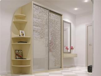 Прихожая прямая с рисунком - Изготовление мебели на заказ «Мега»