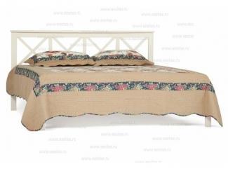 Кровать Франческа с деревянным  основанием - Салон мебели «Тэтчер»