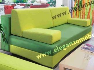Диван прямой Тринити тик-так - Мебельная фабрика «Элеганзо»