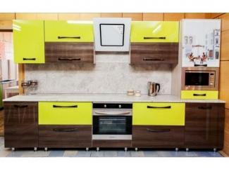 Кухня Алвик с фасадами из пластика  - Мебельная фабрика «Киржачская мебельная фабрика»