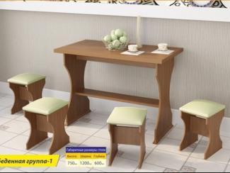Обеденная группа 1 - Мебельная фабрика «Премьер мебель»