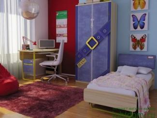 детская Джинс (комплектация 2) - Мебельная фабрика «Любимый дом (Алмаз)»