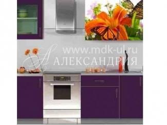 Кухонный гарнитур c фотопечатью - Мебельная фабрика «Александрия»
