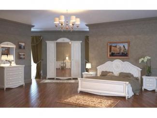 Роскошный спальный гарнитур Да Винчи 2  - Мебельная фабрика «Мэри-Мебель»