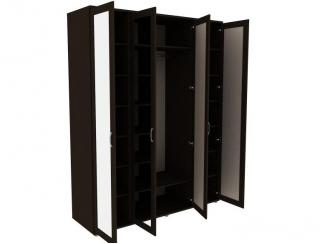 Шкаф для одежды с зеркалами 514.02 - Мебельная фабрика «Уют сервис»