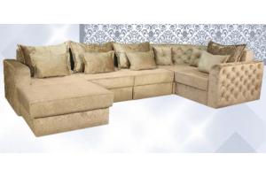 Большой П-образный диван София - Мебельная фабрика «АВА»