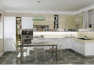 Кухня Скарлетт Бьянка  - Мебельная фабрика «Империя кухни», г. Одинцово