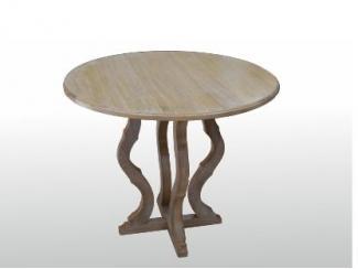 Стол круглый Соло из массива дуба  - Мебельная фабрика «ARTWOOD»