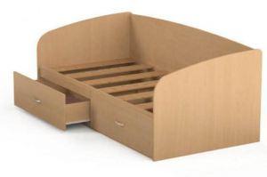 Кровать КР 04 с ящиками - Мебельная фабрика «Милайн», г. Смоленск