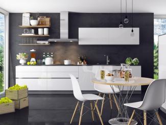 Кухня прямая Беатриса пластик - Мебельная фабрика «Вариант М»
