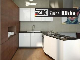 Кухонный гарнитур угловой Мелле Органик - Мебельная фабрика «Zuchel Kuche»