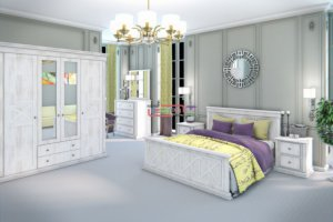 Спальня Прованс МДФ - Мебельная фабрика «Вестра»