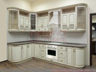 Кухня угловая Классика массив - Мебельная фабрика «Маруся мебель»