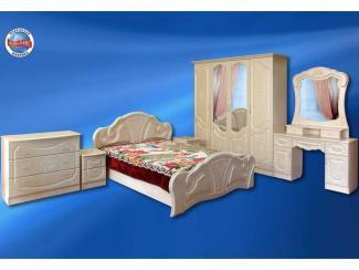 Спальный гарнитур «Венеция» - Мебельная фабрика «Альянс»
