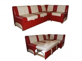 Угловой кухонный диван  со спальным местом Рондо 2 - Мебельная фабрика «Мебель эконом»