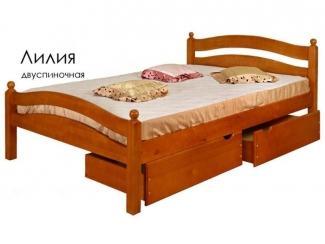 Кровать Лилия - Мебельная фабрика «Массив»