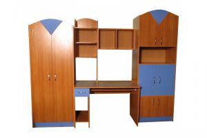 Детская стенка Незнайка-2 - Мебельная фабрика «Мебельный Арсенал»