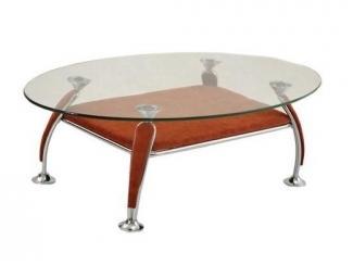 Овальный журнальный стол  - Мебельная фабрика «Добрый стиль»