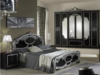 Спальный гарнитур «Ольга серебро» - Оптовый мебельный склад «Дина мебель»