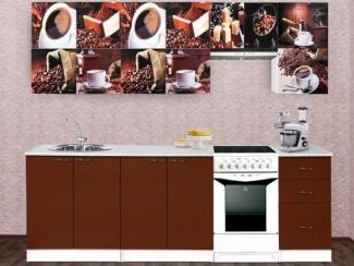 Кухонный гарнитур Кофейный коллаж - Мебельная фабрика «Владикор»