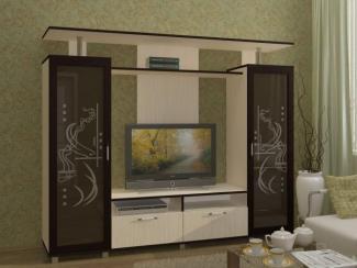 Гостиная стенка Нота-6 ЛДСП (без отделки) - Мебельная фабрика «Регион 058»