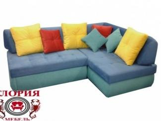 Яркий угловой диван Глория 21 - Мебельная фабрика «Глория», г. Ульяновск