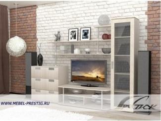 Светлая гостиная Глория 2 - Мебельная фабрика «Престиж»