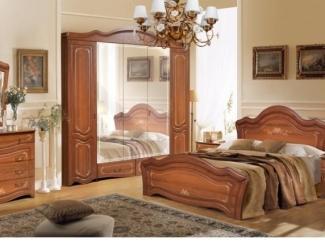 Спальный гарнитур Рим 5 орех - Мебельная фабрика «Август»