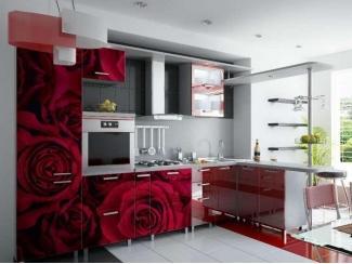 Кухня с фотопечатью KF 5 - Мебельная фабрика «FSM (Фабрика Стильной Мебели)»