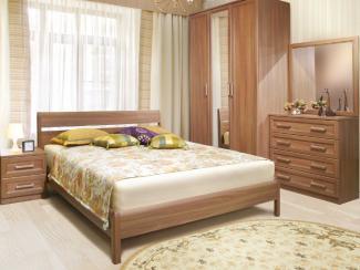 Спальня Андорра каштан - Мебельная фабрика «Еврокорпус»