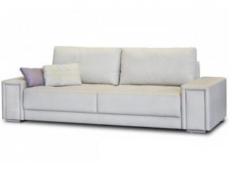 Белый прямой диван Кати  - Мебельная фабрика «Могилёвмебель», г. - не указан -