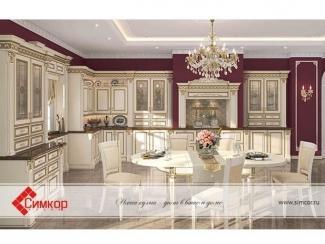 Элитная кухня Нике Аворио - Мебельная фабрика «Симкор»