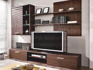 Гостиная стенка Кватро - Импортёр мебели «БРВ-Мебель (Black Red White)»