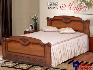 Кровать «Лаура М-26» - Мебельная фабрика «Мебель Прогресс»
