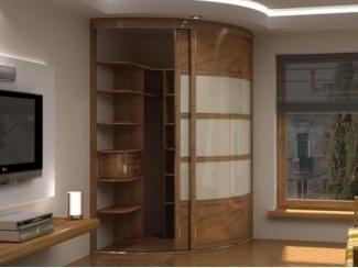 Радиусный шкаф-купе в гостиную  - Мебельная фабрика «Вектра-мебель»